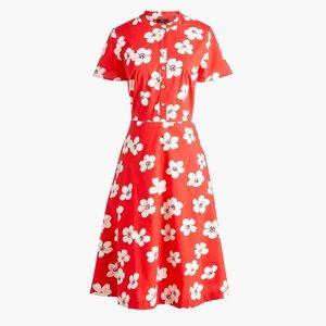 J. Crew Cherry Blossom Shirt Dress